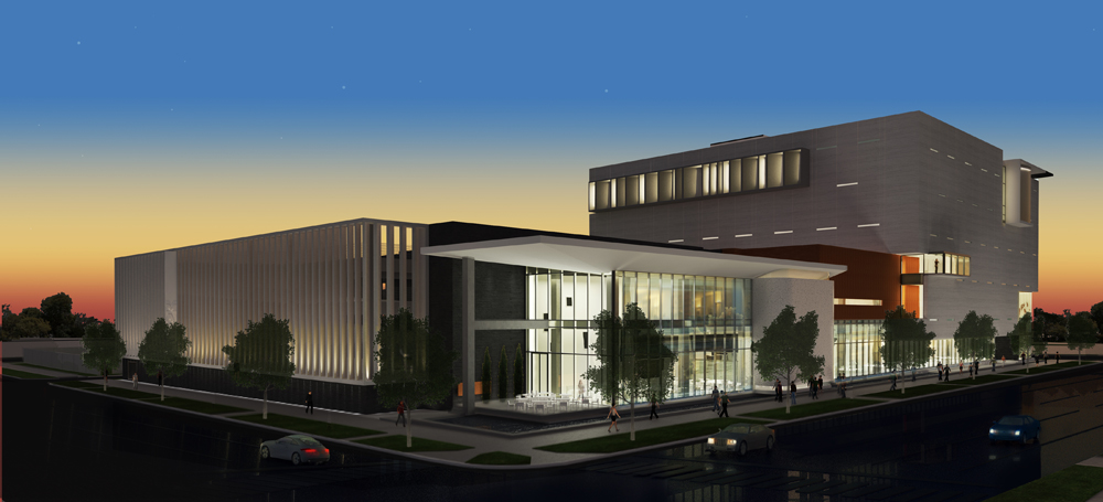 Rendering of the upcoming Museum of American Arts and Crafts Movement